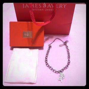 James Avery Charm Bracelet and Charm